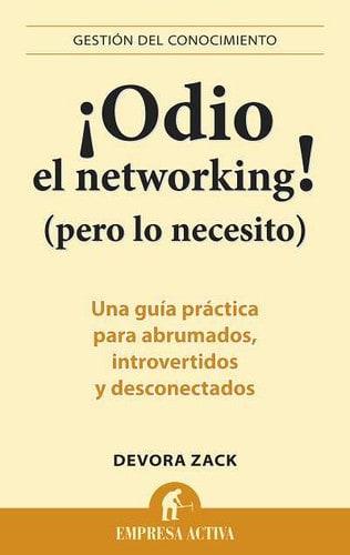 Portada de Odio el networking